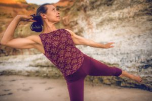 Ardha Chandrasana yoga pose
